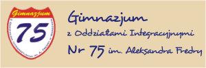 Gimnazjum z Oddziałami Integracyjnymi Nr 75 im. Aleksandra Fredry